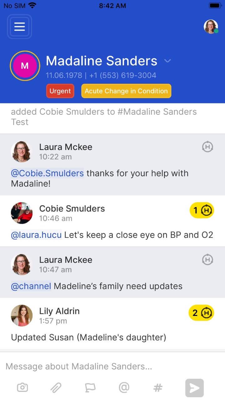 Medical Communication Apps